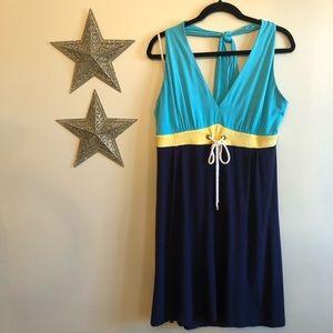 Lilly Pulitzer Nautical Halter Jersey Dress